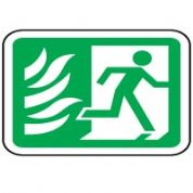 Safe Safety Sign - Fire Door010